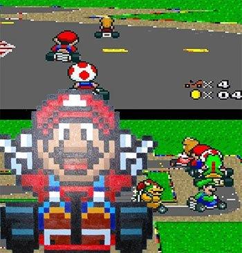 Super Mario Kart - Play Game Online