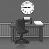 black & white escape: office