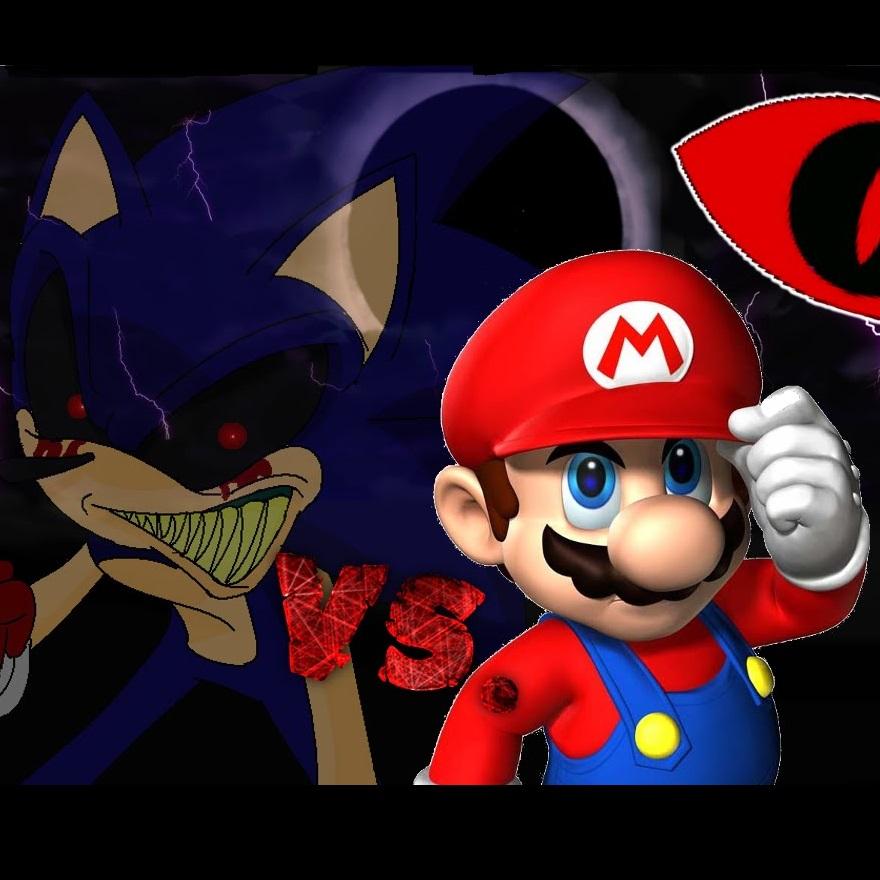 Mario Vs Sonic Exe Fun Online Game Games Haha