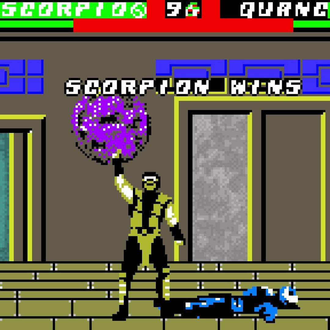 Gameboy color emulator online - Mortal Kombat 4