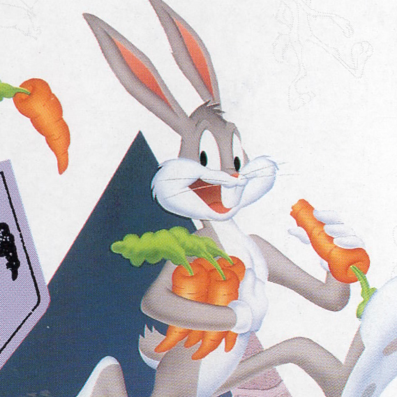 Crazy bugs bunny