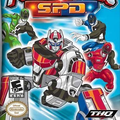 play power rangers s.p.d. on gba emulator online