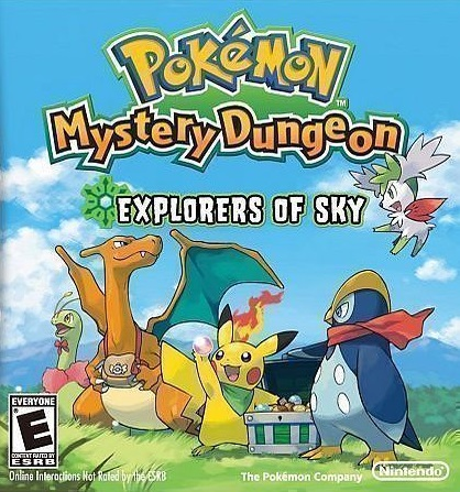 Pokémon mystery dungeon: gates to infinity (game) giant bomb.