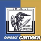 gameboy camera gold: zelda edition