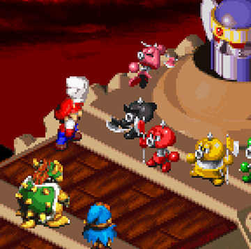 Play Super Mario RPG - Legend of the Seven Stars on SNES