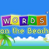 words on the beach