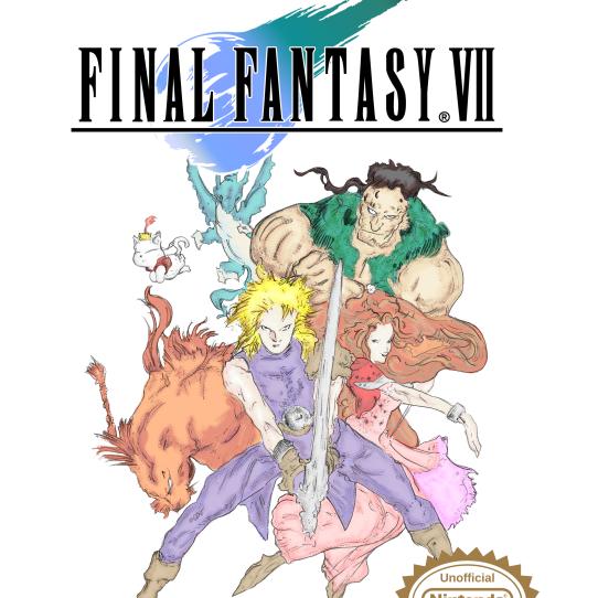 Play Final Fantasy Vii Core Crisis On Nes Emulator Online