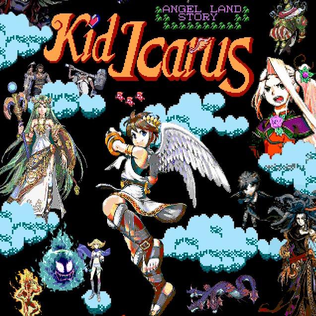 Kid Icarus Flash Game