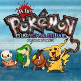 pokemon – black & blue! gotta free 'em all!