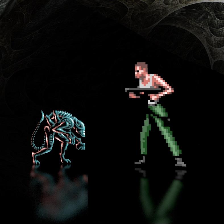 Play Alien Games - Emulator Online