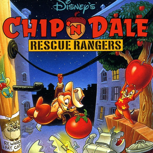 Disney's Chip 'n Dale: Rescue Rangers for NES (1990 ...