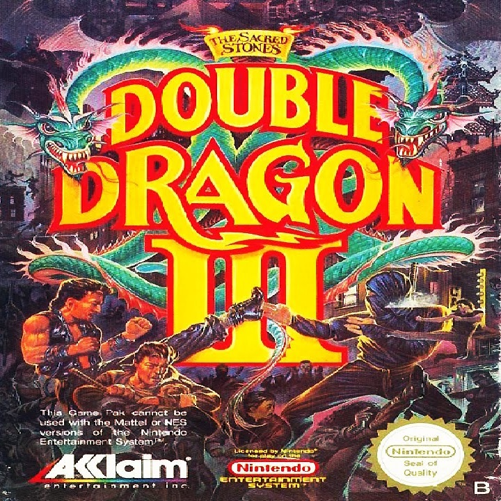 Play Double Dragon 3 The Sacred Stones On Nes Emulator Online