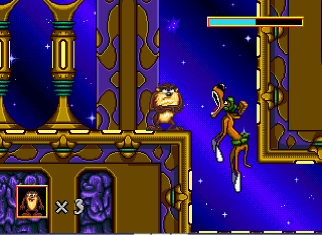 Play Taz in Escape from Mars on SEGA - Emulator Online