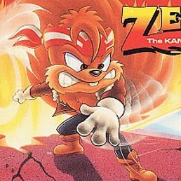 zero the kamikaze squirrel snes