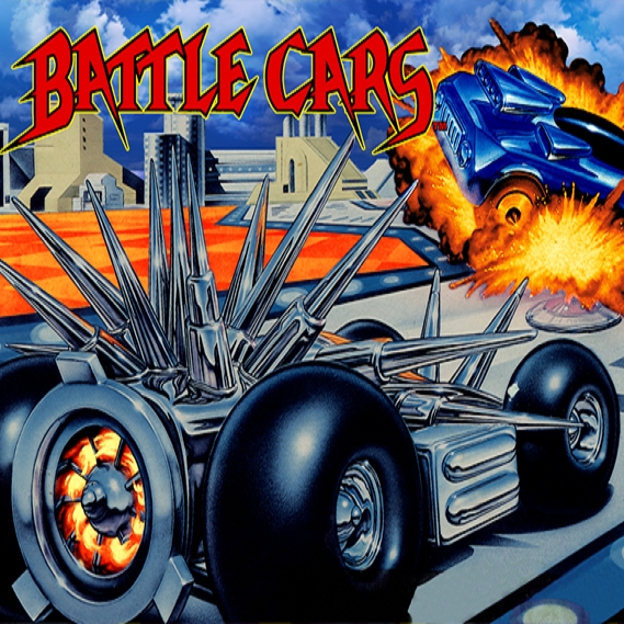 Battle Cars Super Nintendo Game