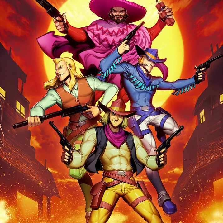 sunset riders arcade rom