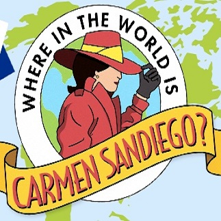 Where In the World Is Carmen Sandiego On Google Maps Apparently