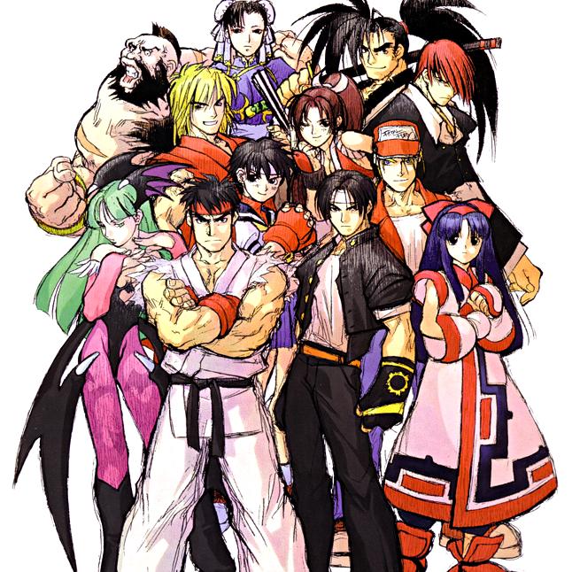 Play SNK vs  Capcom: Match of the Millennium on NGP