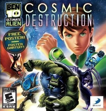Play Ben 10 Ultimate Alien Cosmic Destruction On Nds Emulator Online