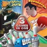 3 in 1: paintball splat dodgeball, dodge this, big alley bowling
