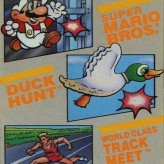 3-in-1 super mario bros, duck hunt, track meet