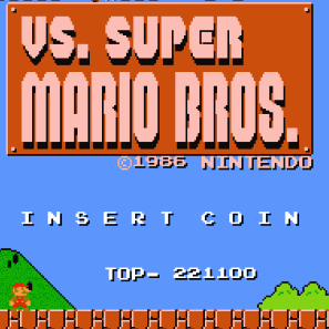 Play Vs Super Mario Bros On Nes Emulator Online