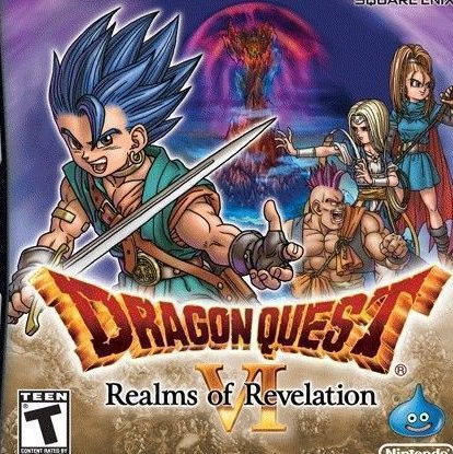 Play Dragon Quest VI: Realms of Revelation on NDS - Emulator