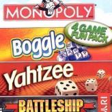 4 Games Fun Pack: Monopoly Boggle Yahtzee Battleship