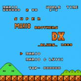 super mario bros dx blues
