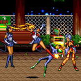streets of rage 2: sailor moon