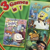 3 in 1: rugrats, spongebob, tak