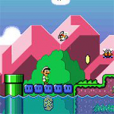 smw the princess rescue 2: luigi's journey!
